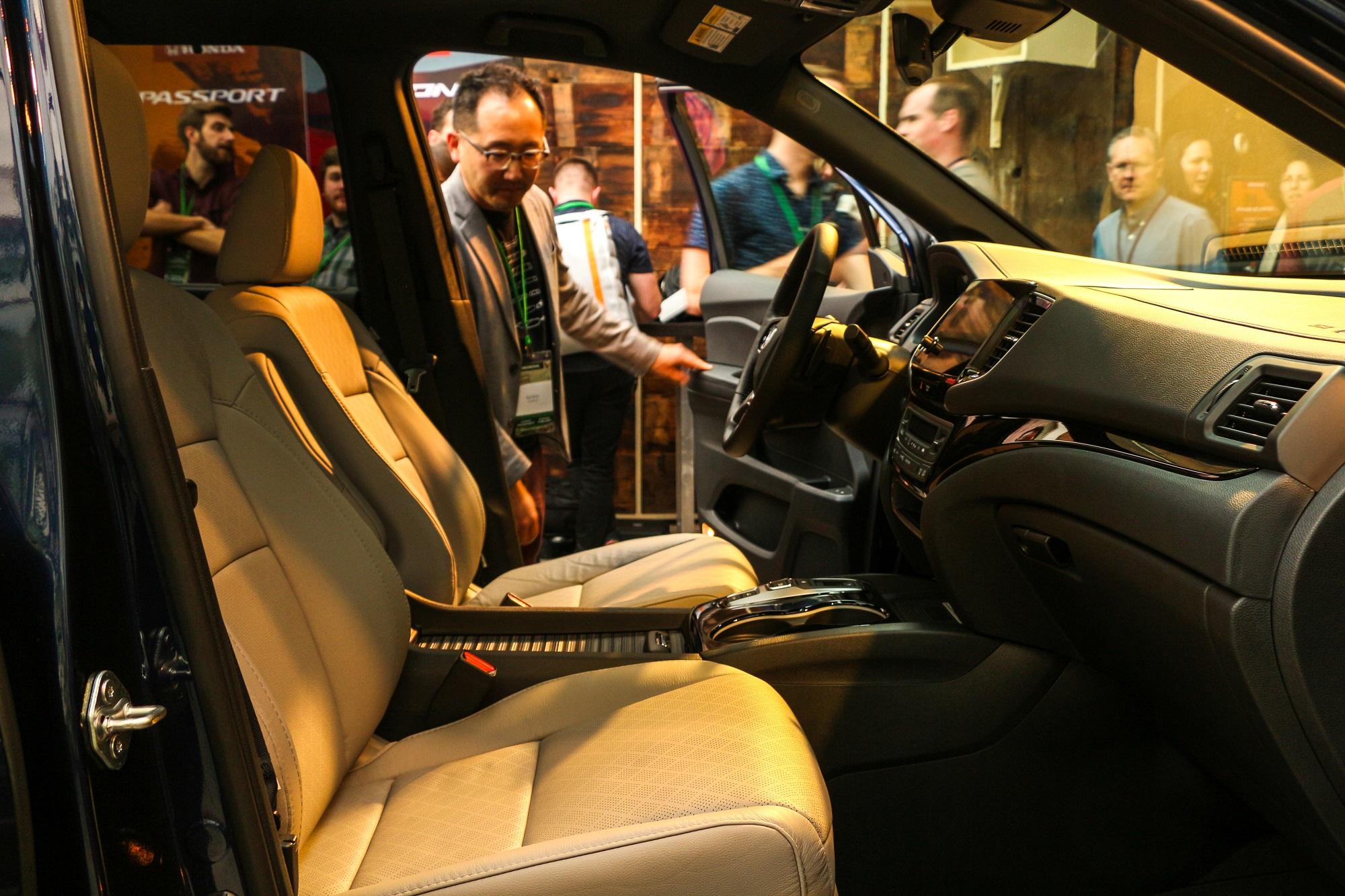 2019 Honda Passport SUV Reveal LA Auto Show Honda-tech.com