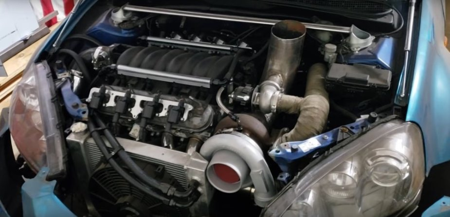 Acura RSX Front LS4 Engine