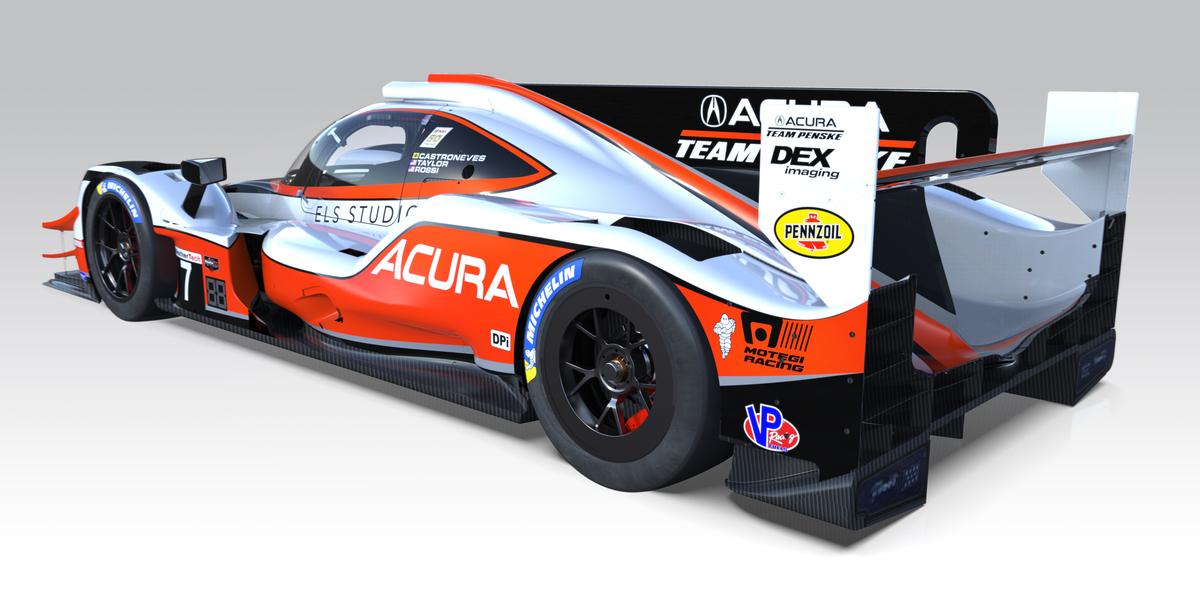 2019 Acura Team Penske #7 ARX-05 Prototype