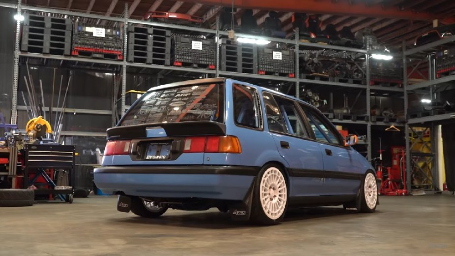 1991 Honda Civic Wagovan Bisimoto Turbo K24