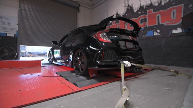 VR Tuned Civic Type R Dyno