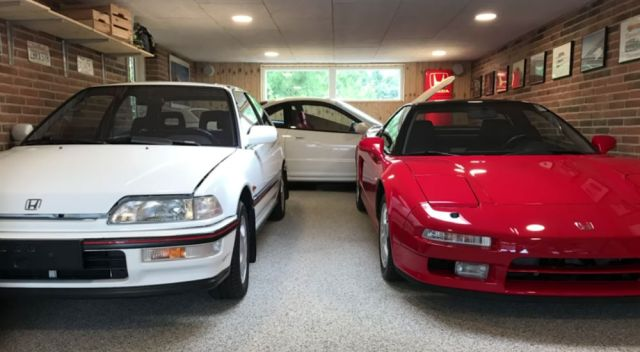 Honda Civic + NSX + Integra Type-R
