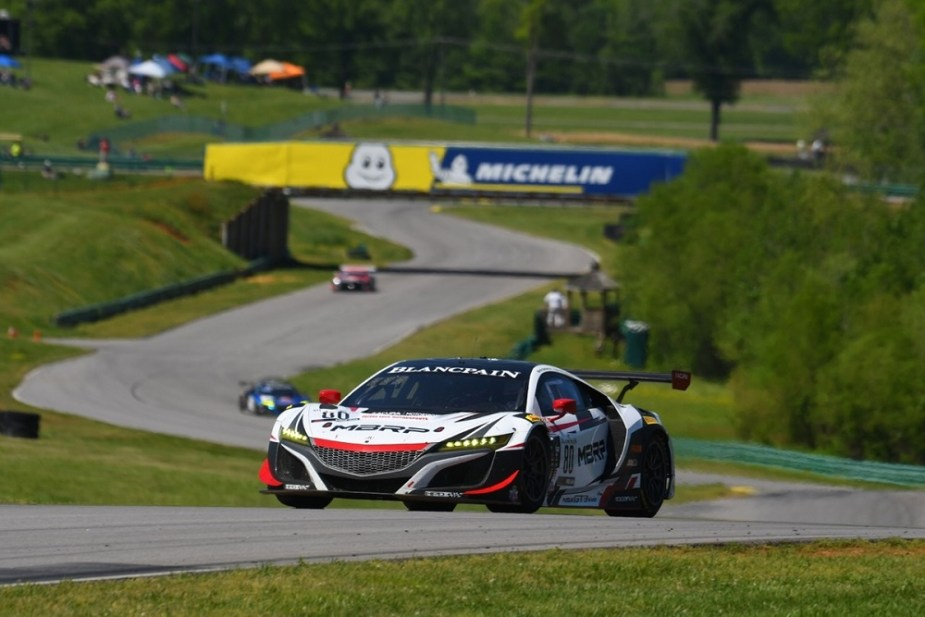 Acura NSX GT3 Evo Teams Earn Pro/Am Wins In Virginia