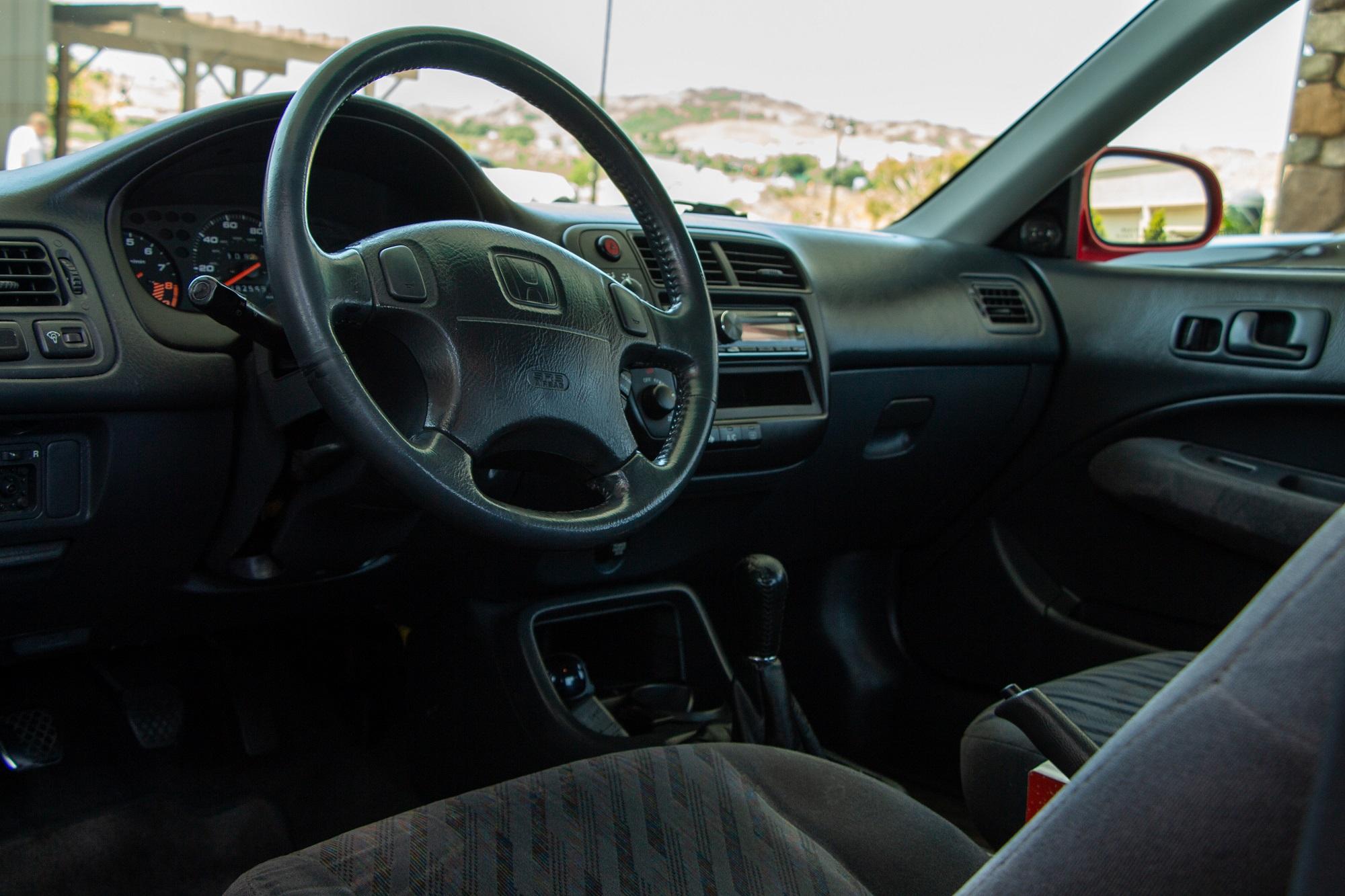 EM1 Honda Civic Si Retro Review All Original Time Capsule Milano Red Jake Stumph