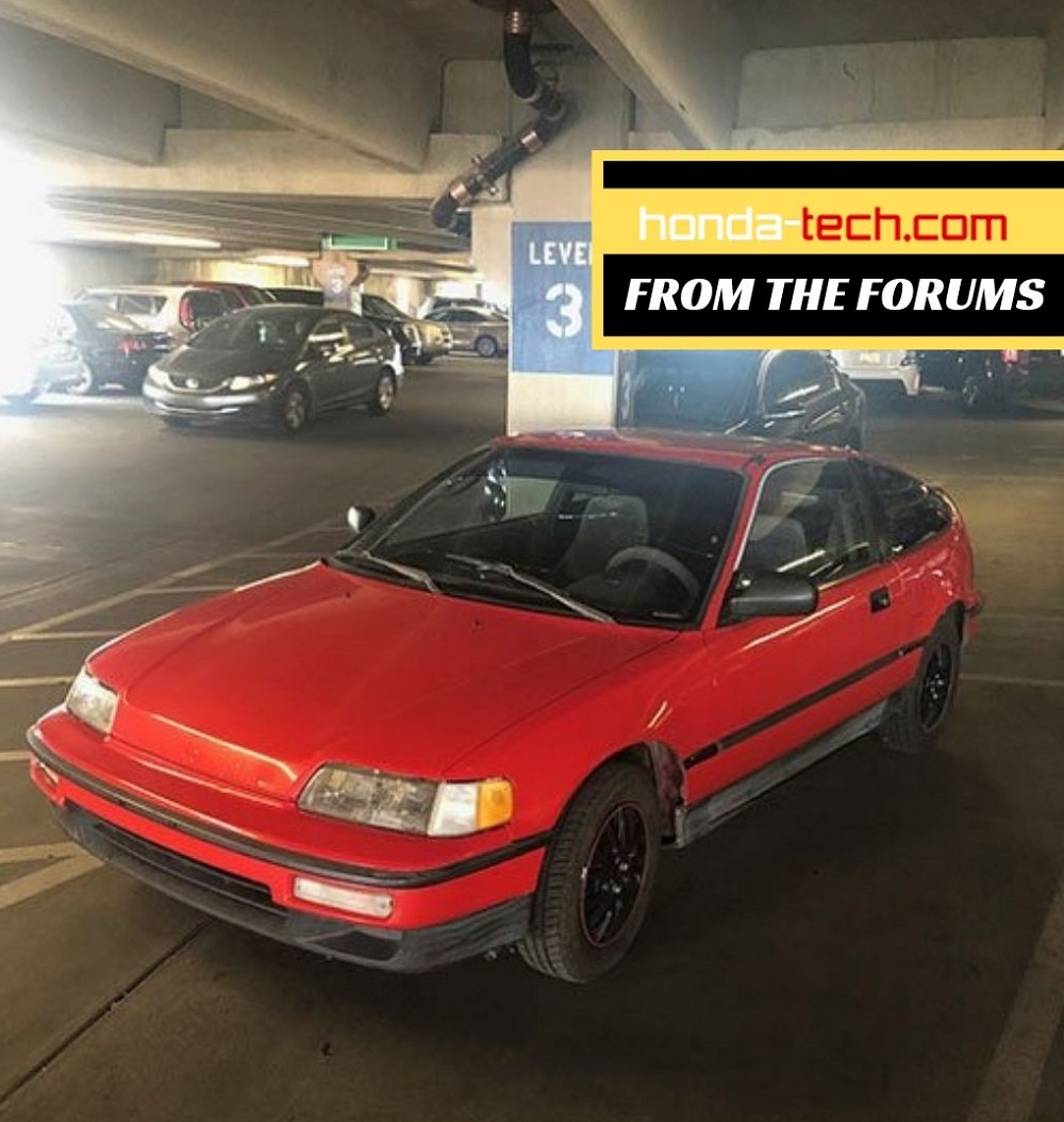 CRX HF Begins Its Next Phase Of Life As A Project Car
