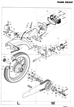 exploded views  parts list | 4into1 Vintage Honda