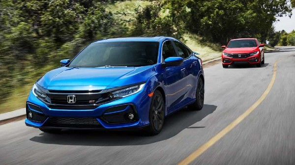 2020 Honda Civic Si Sedan Specs