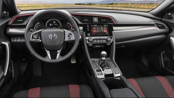 2020-Honda-Civic-Si-Sedan-Interior