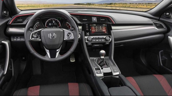 2020-Honda-Civic-Si-Sedan-Interior