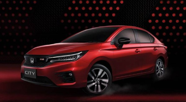 2020 Honda City Adds a Sporty RS Trims