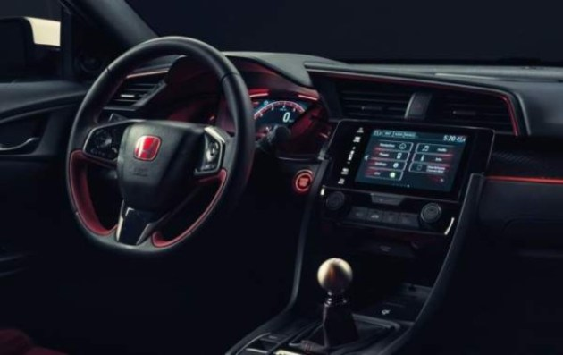 2020-Honda-Civic-Type-R-Interior