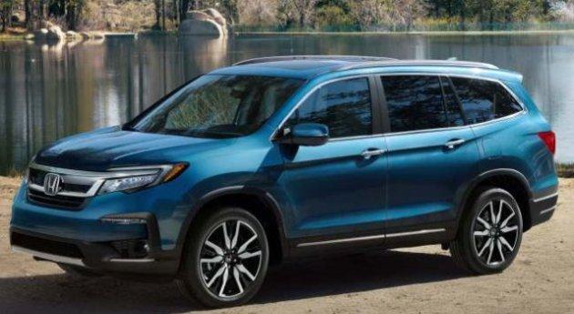 2021-Honda-Pilot-Comes-Without-Hybrid-Powertrain