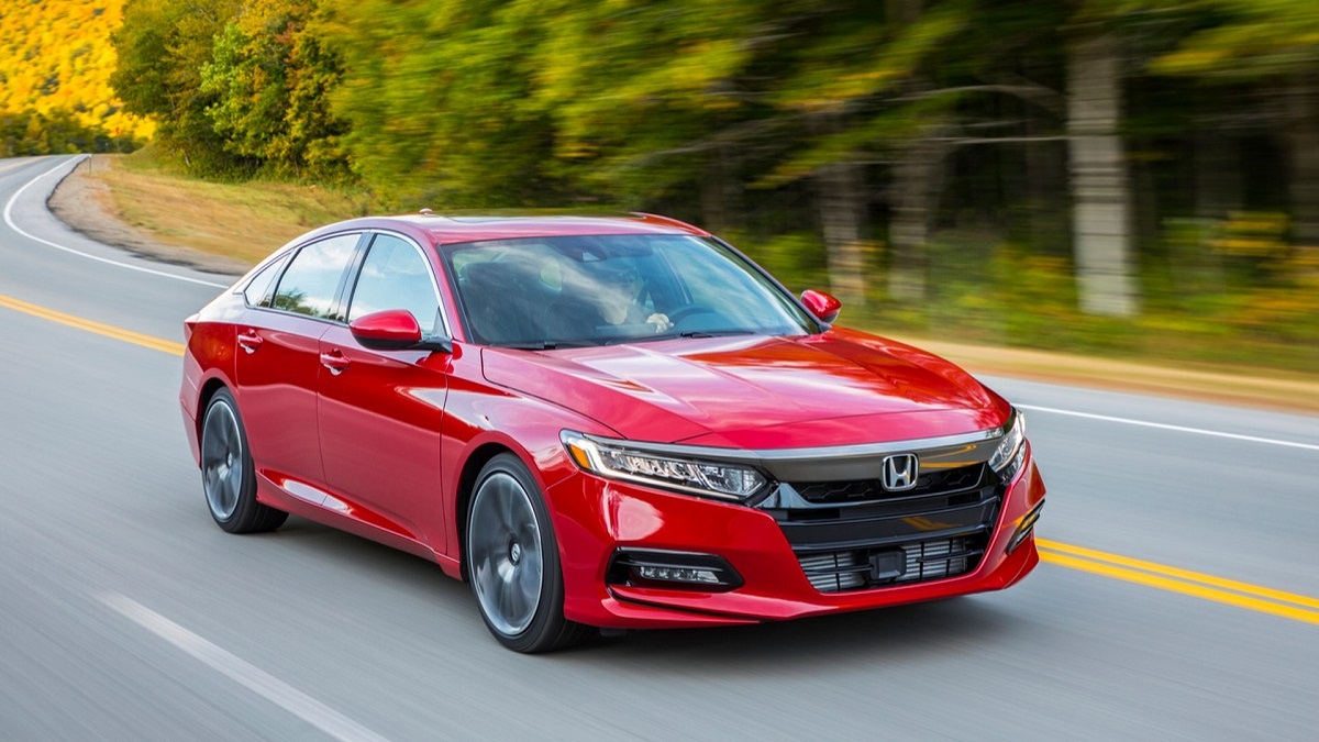 2021 Honda Accord Sport front