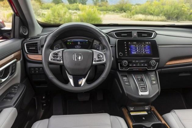 2021 Honda CR-V cabin