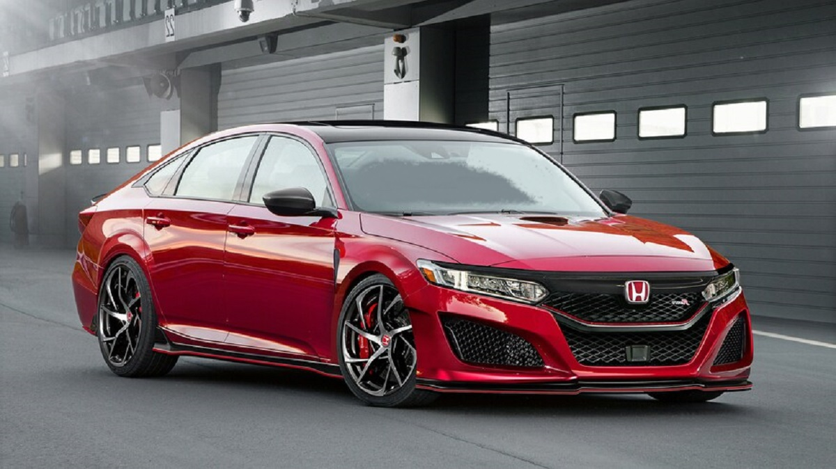 2021 Honda Accord Type R front