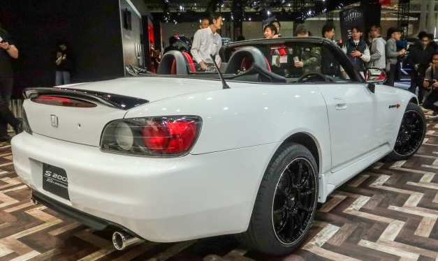 2021 Honda S2000 rear