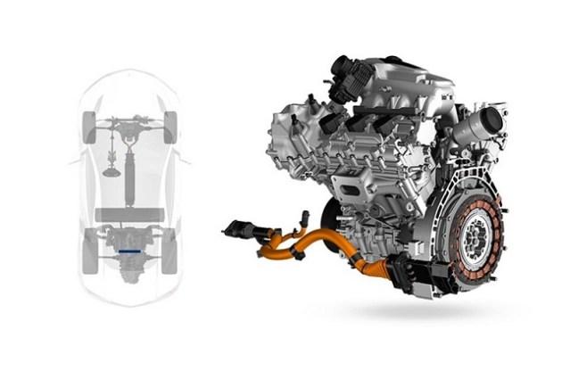 Acura NSX Type R engine