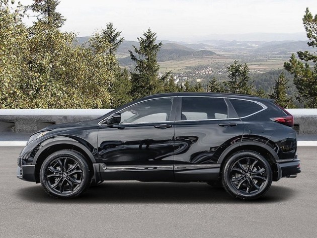 2021 Honda CR-V Black Edition side