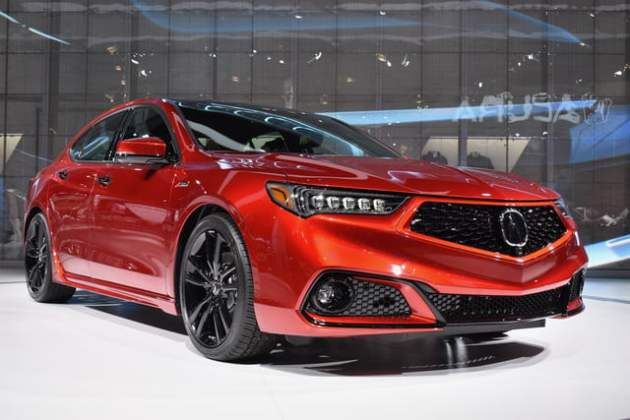 2021 Acura TLX PMC Edition front