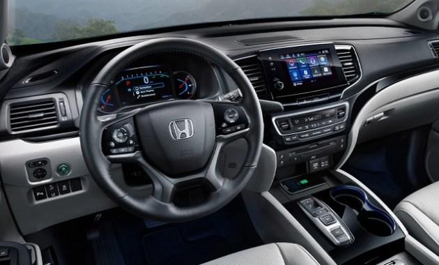 2021 Honda Pilot Special Edition cabin
