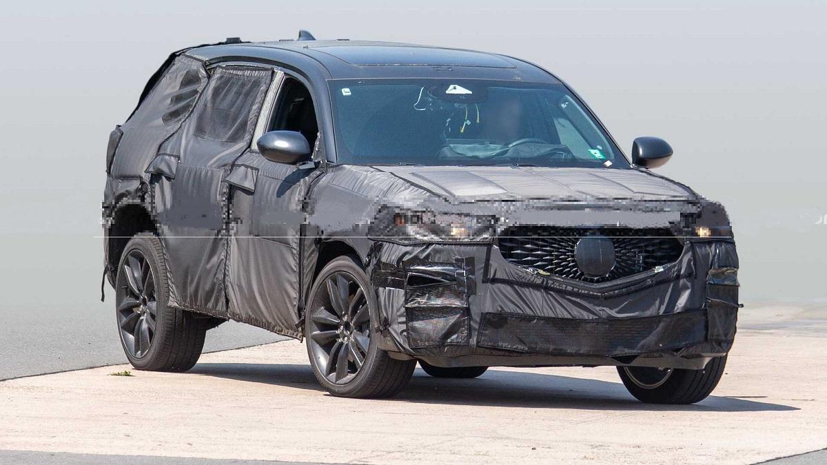 2022 Acura MDX Type S front