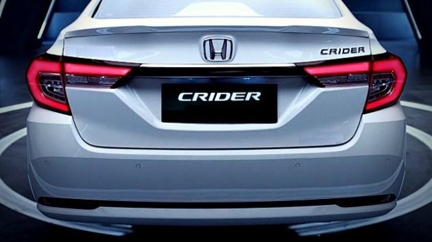 2021 Honda Crider rear