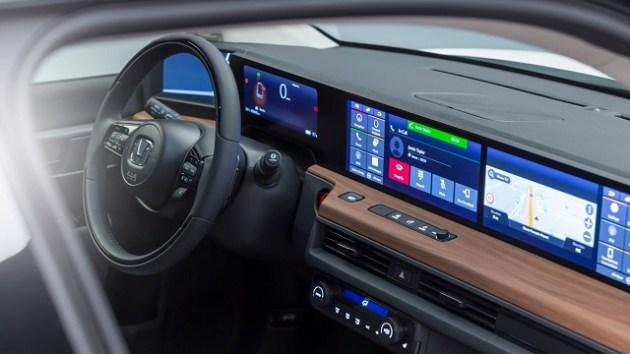 2021 Honda E Interior