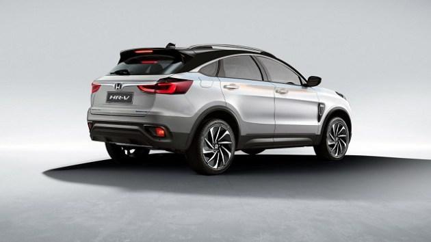 2022 Honda HR-V rear