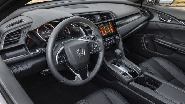2021 Honda Civic Hatchback cabin