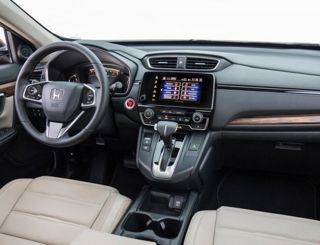 2022 Honda CR-V Cabin