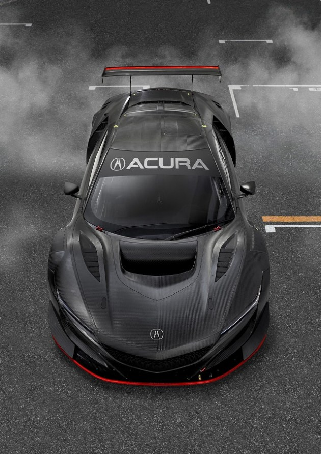 2021 Acura NSX Type R hood