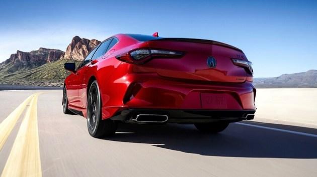 2021 Acura TLX A-Spec rear