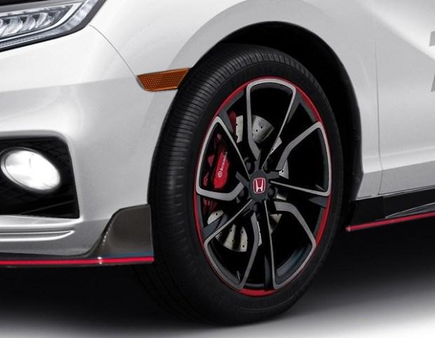 2021 Honda Odyssey Type R side