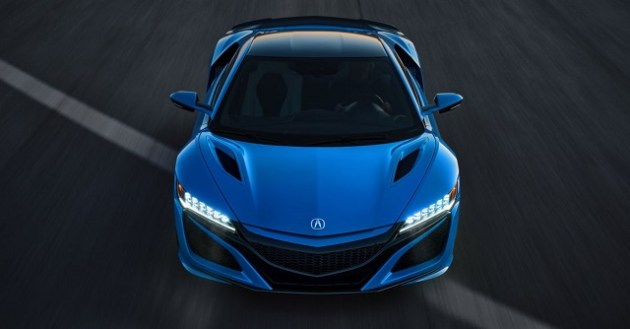 2022 Acura NSX front