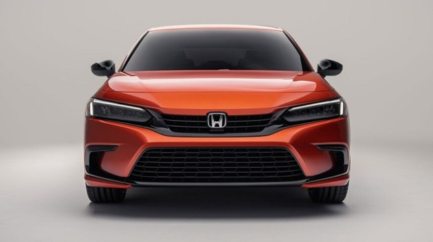 2022 Honda Civic front