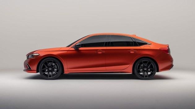 2022 Honda Civic side
