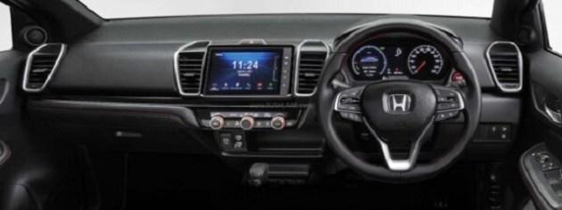2021 Honda City eHEV Sport Hybrid interior