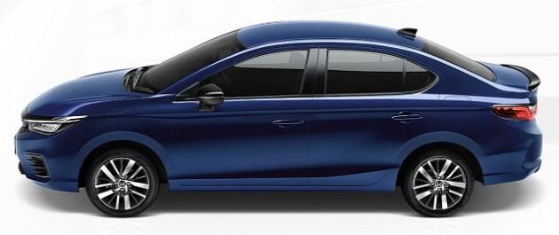 2021 Honda City eHEV Sport Hybrid side