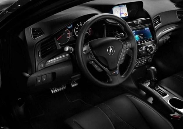 2022 Acura RLX cabin