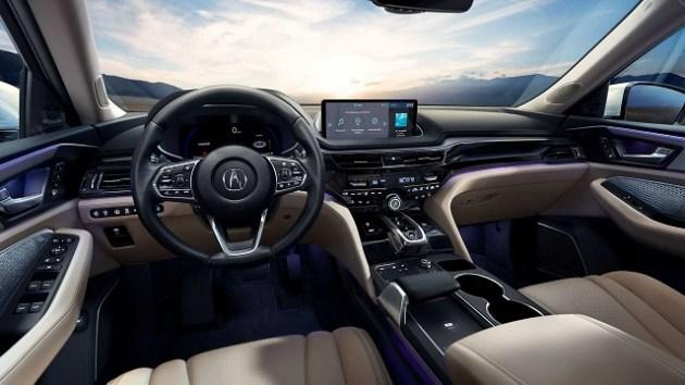 2022 Acura MDX hybrid cabin