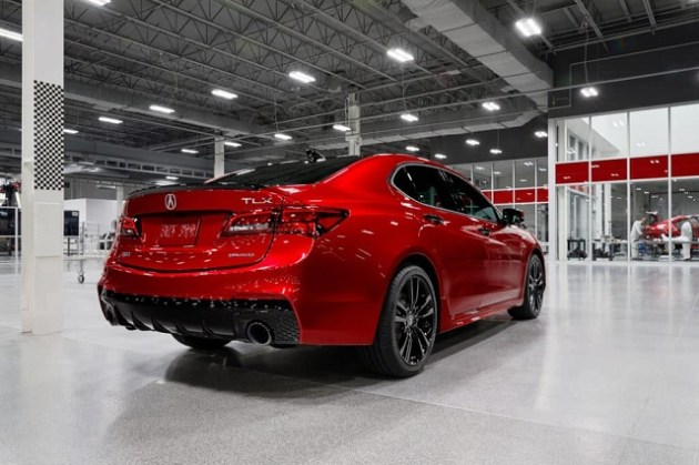 2022 Acura TLX PMC Edition rear