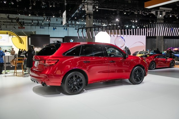 2022 Acura MDX PMC Edition side