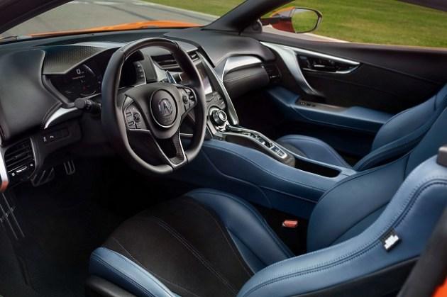 2022 Acura NSX Type R Interior