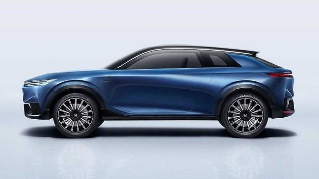 2022 Honda SUV e side