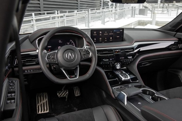2022 Acura MDX SH-AWD interior
