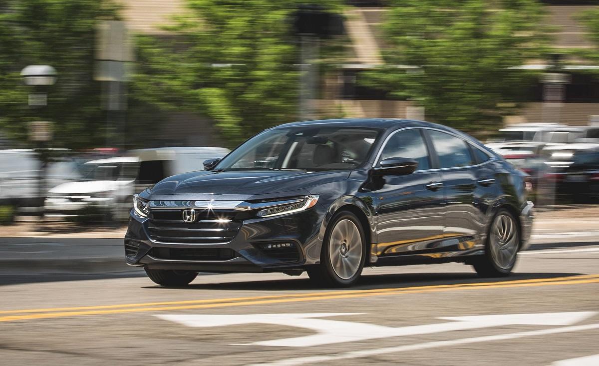 2022 Honda Insight Hybrid front