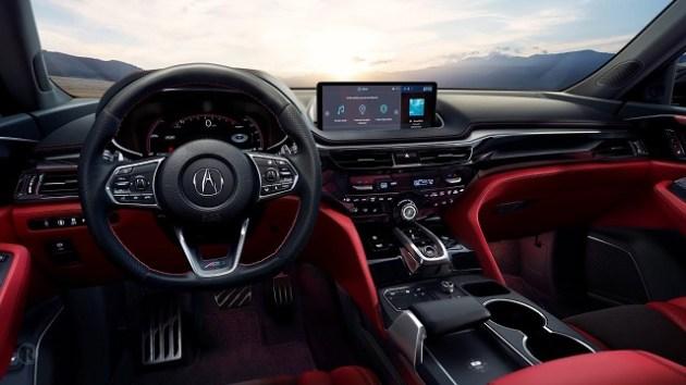 2023 Acura MDX Type S interior