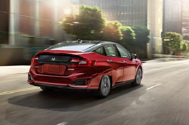 2023 Honda Clarity rear