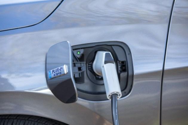 2023 Honda Clarity Plug-in Hybrid charging port