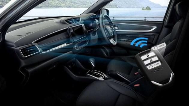 2023 Honda BR-V interior